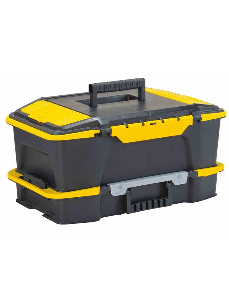 Caja Plastica Profunda & Organizador Click 'N Connect